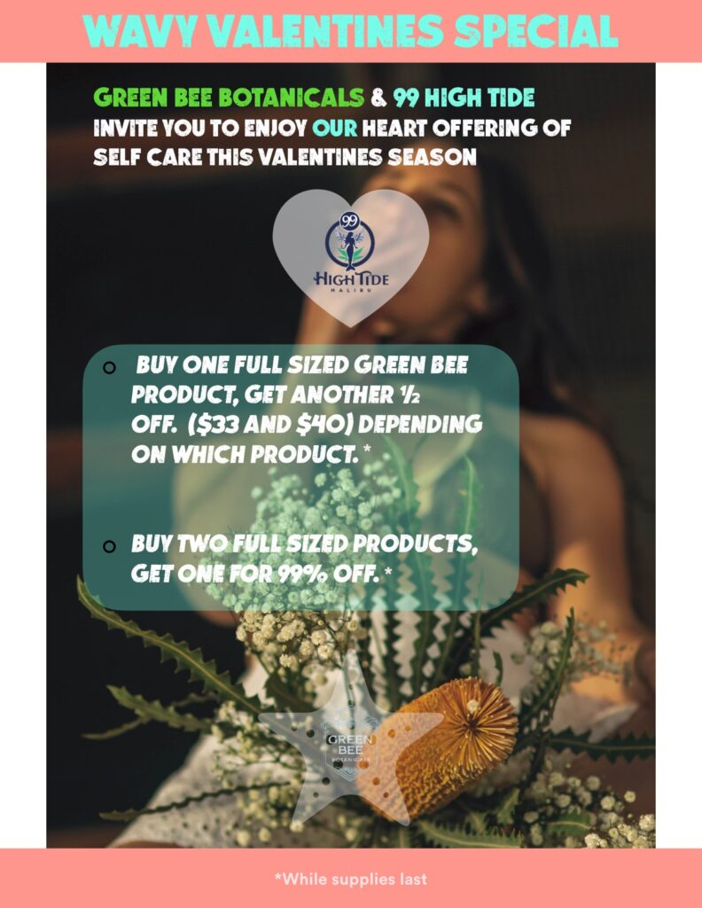 Green Bee Valentines Day Offer